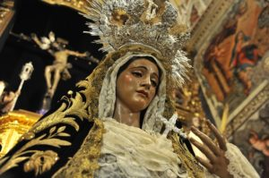 La Virgen de las Tristezas.