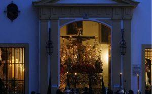 Cristo de la Expiración del Museo el Lunes Santo. Foto: Manuel Gómez